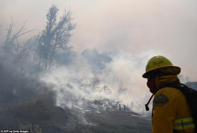 Cháy rừng dữ dội tại California, hàng trăm nghìn người di tản - 2