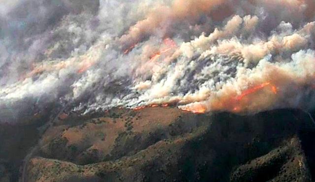 Cháy rừng dữ dội tại California, hàng trăm nghìn người di tản - 9