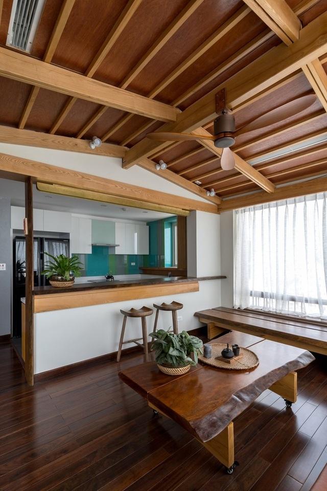 Căn chung cư ở Hà Nội ngập cây xanh như nhà vườn nghỉ dưỡng trên không - 3