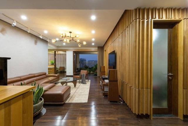 Căn chung cư ở Hà Nội ngập cây xanh như nhà vườn nghỉ dưỡng trên không - 6