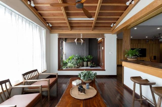 Căn chung cư ở Hà Nội ngập cây xanh như nhà vườn nghỉ dưỡng trên không - 8