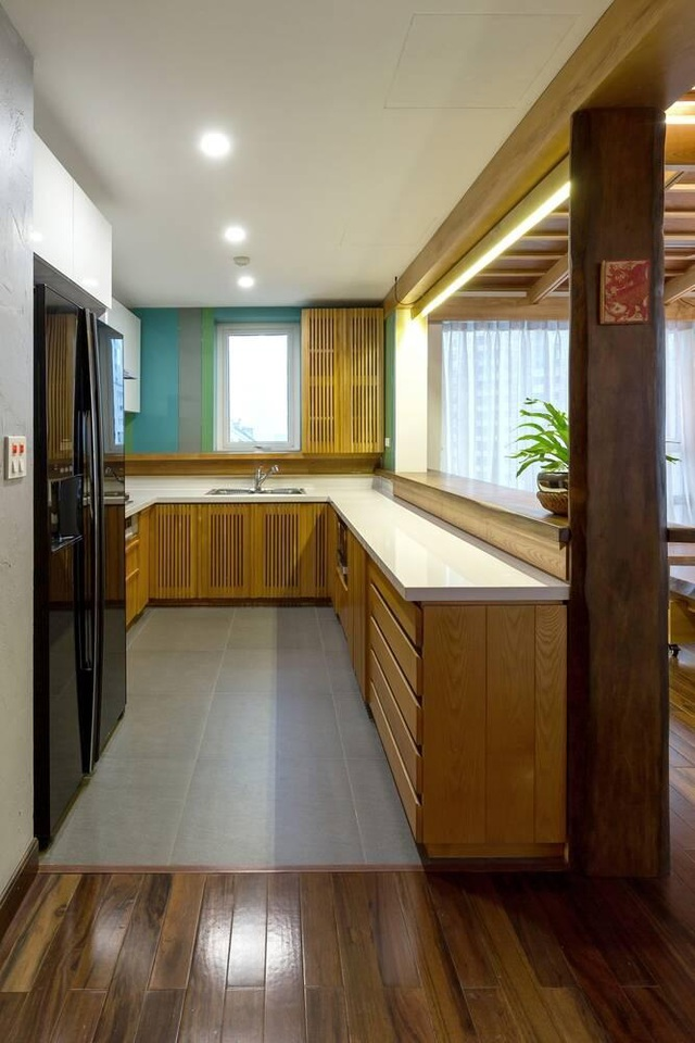 Căn chung cư ở Hà Nội ngập cây xanh như nhà vườn nghỉ dưỡng trên không - 9