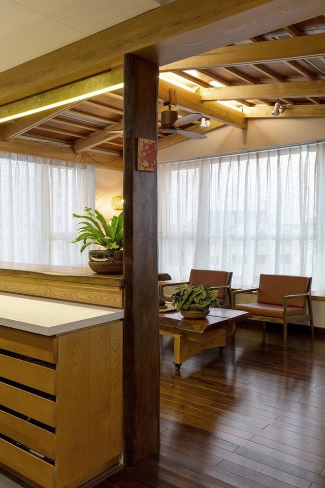 Căn chung cư ở Hà Nội ngập cây xanh như nhà vườn nghỉ dưỡng trên không - 13