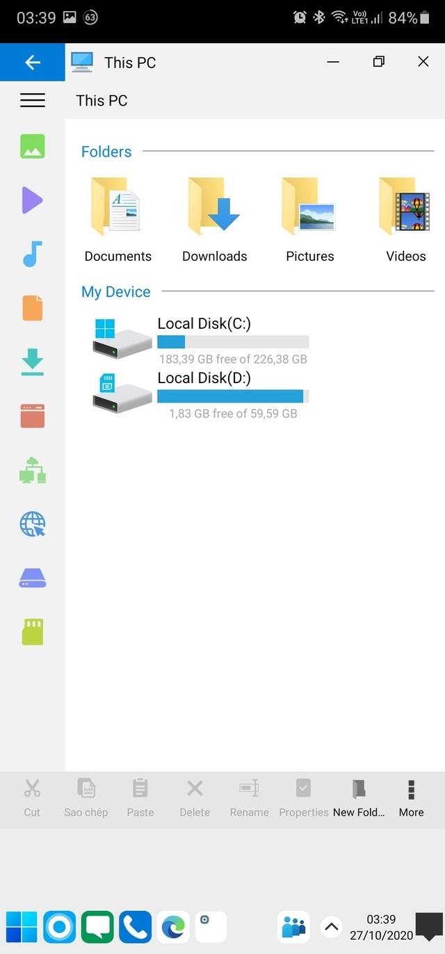 Trải nghiệm giao diện Windows 10 ngay trên smartphone Android - 8