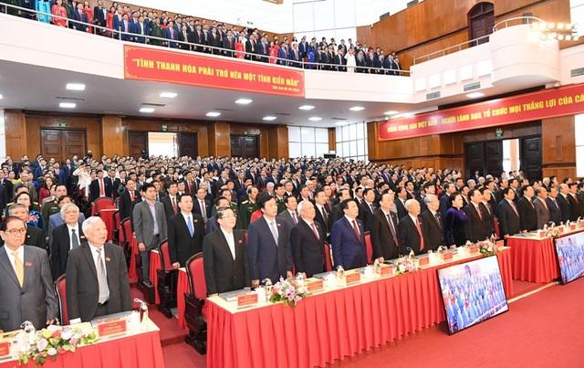 Khai mạc Đại hội đại biểu Đảng bộ tỉnh Thanh Hóa lần thứ XIX - 1