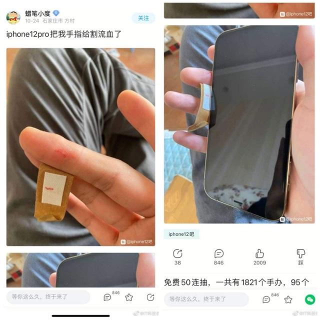 Người dùng phàn nàn iPhone 12 có cạnh sắc tới mức gây đứt tay - 2