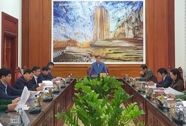 Quảng Bình cắt giảm Đại hội Đảng để tập trung khắc phục hậu quả mưa lũ - 1