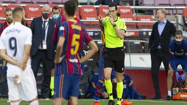 Tiết lộ bất ngờ về quả phạt đền tranh cãi ở trận Barcelona-Real Madrid - 1