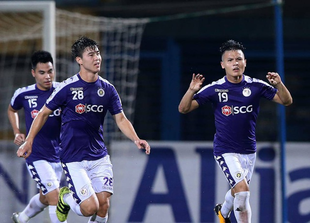 Quang Hải và Văn Quyết tranh giải bàn thắng đẹp nhất lịch sử AFC Cup - 1