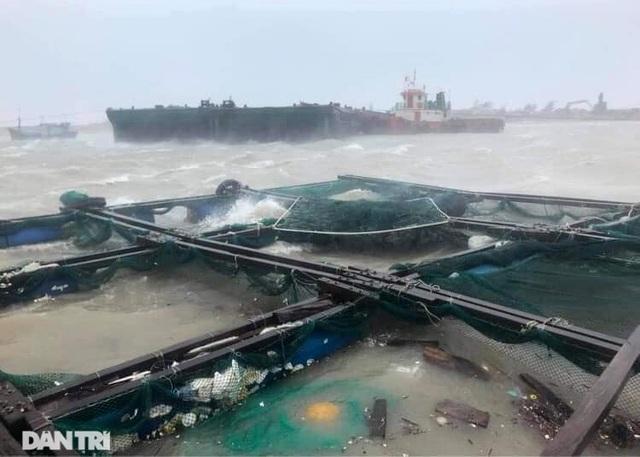 Đảo Lý Sơn tan hoang nhà cửa, tàu thuyền sau khi bão số 9 quét qua - 2