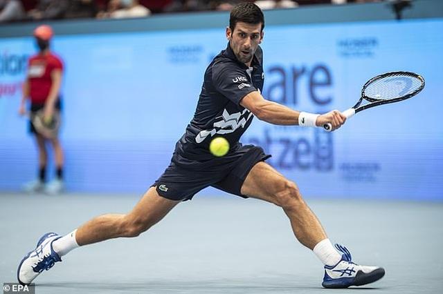 Vienna Open: Djokovic đánh bại bạn thân Krajinovic - 1