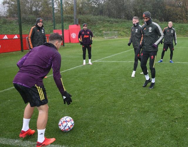"""Dàn """"hùng binh"""" của Man Utd """"luyện công"""", sẵn sàng đón RB Leipzig - 12"""