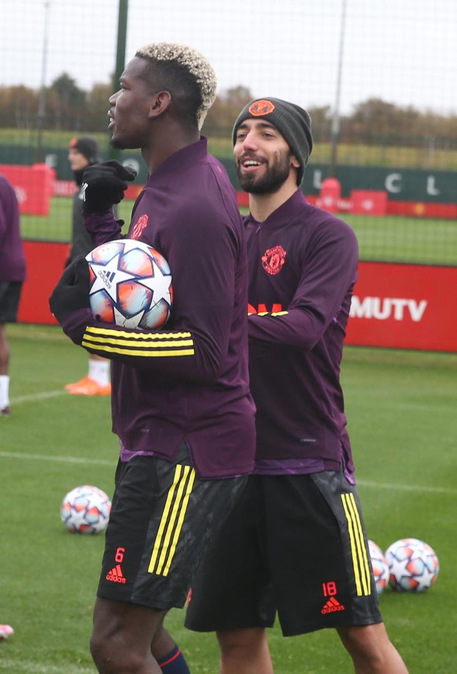 """Dàn """"hùng binh"""" của Man Utd """"luyện công"""", sẵn sàng đón RB Leipzig - 4"""