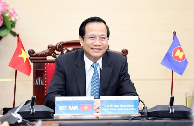 """Bộ trưởng Đào Ngọc Dung: """"Thế giới việc làm đang thay đổi vì Covid-19"""" - 1"""