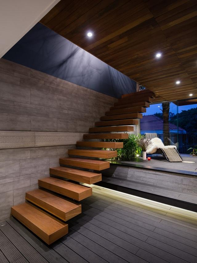 """Bể bơi và khu giải trí hoành tráng """"ẩn mình"""" trong căn biệt thự ở Sài Gòn - 8"""