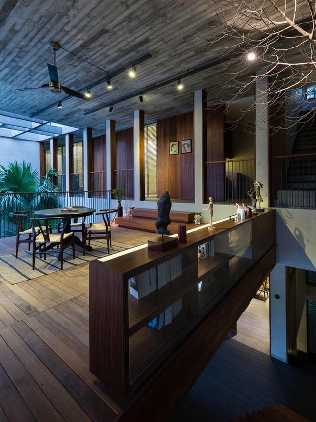 """Bể bơi và khu giải trí hoành tráng """"ẩn mình"""" trong căn biệt thự ở Sài Gòn - 9"""