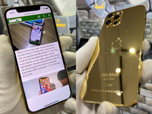 Trên tay iPhone 12 Pro mạ vàng, giá 160 triệu đồng tại Việt Nam - 5