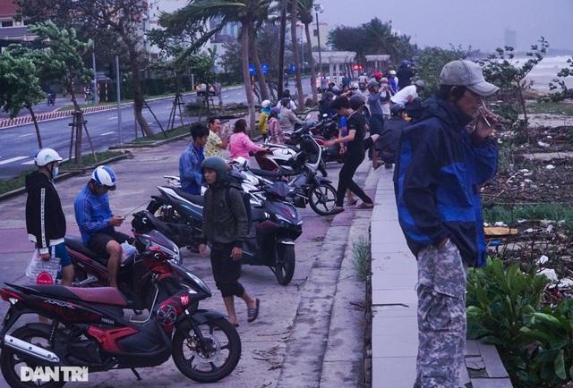 Đường phố Đà Nẵng ngổn ngang, cây xanh ngã đổ la liệt sau bão - 14