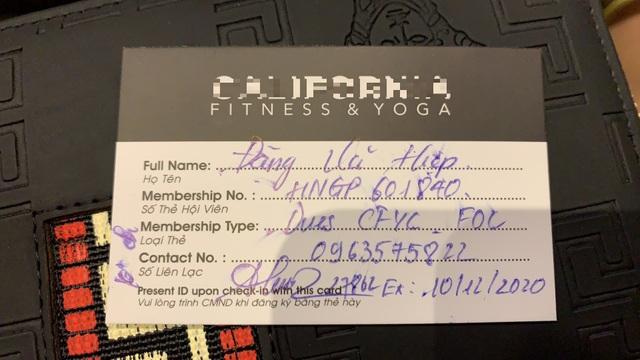 Mua thẻ tập gym 1 năm vẫn liên tiếp bị trừ tiền hàng tháng - 4
