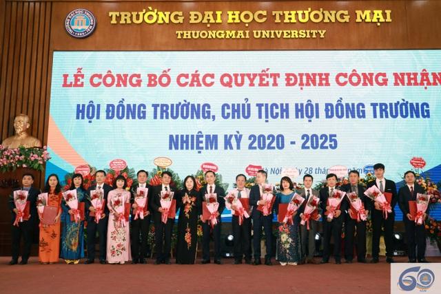 Trường ĐH Thương Mại công bố Hội đồng trường mới - 1