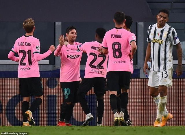 Juventus 0-2 Barcelona: Messi, Dembele tỏa sáng - 12