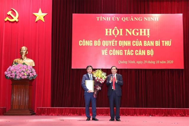 Thứ trưởng Bộ Xây dựng làm Phó Bí thư Tỉnh ủy Quảng Ninh - 1