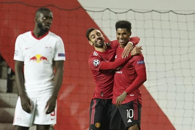 Những khoảnh khắc chiến thắng tưng bừng của Man Utd trước RB Leipzig - 14