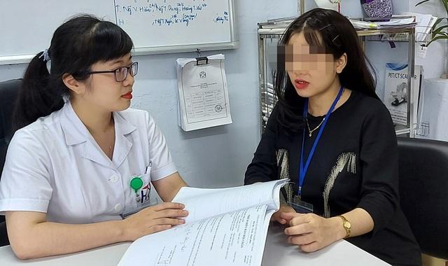 """Nữ bệnh nhân 22 tuổi """"vượt qua"""" ung thư để được làm mẹ - 2"""