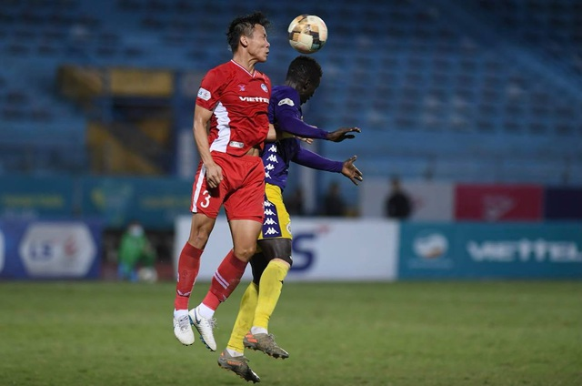 CLB Viettel bất phân thắng bại với CLB Hà Nội - 1