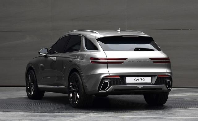 Genesis GV70 2021 - xe Hàn Quốc cạnh tranh SUV hạng sang của Đức - 5