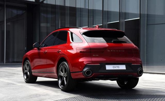 Genesis GV70 2021 - xe Hàn Quốc cạnh tranh SUV hạng sang của Đức - 8