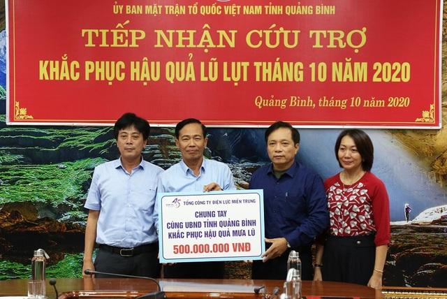 Vùng lũ tại Quảng Bình được hỗ trợ tổng trị giá hơn 50 tỷ đồng - 2