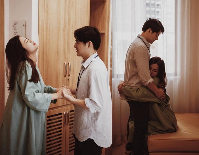 Đông Nhi chia sẻ khoảnh khắc Ông Cao Thắng căng thẳng, lo lắng chờ vợ sinh - 4