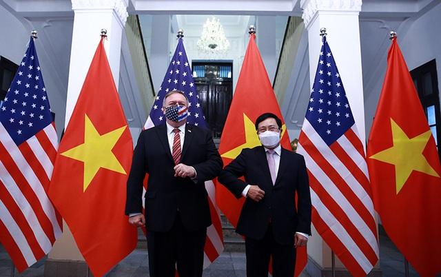Ngoại trưởng Pompeo: Mỹ ủng hộ Việt Nam vững mạnh, độc lập, thịnh vượng - 1