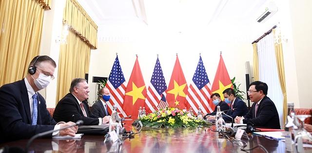 Ngoại trưởng Pompeo: Mỹ ủng hộ Việt Nam vững mạnh, độc lập, thịnh vượng - 2