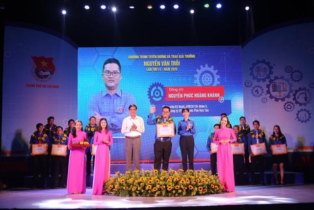 TPHCM: 43 công nhân tiêu biểu nhận giải thưởng Nguyễn Văn Trỗi - 2