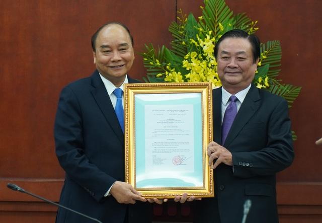 Ông Lê Minh Hoan chính thức nhận nhiệm vụ Thứ trưởng Bộ Nông nghiệp - 1