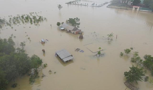 toàn cảnh ngập lụt