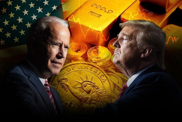 Giá vàng có thể biến động dữ dội nếu ông Joe Biden lên làm Tổng thống Mỹ! - 1