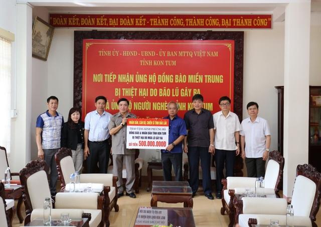 Đắk Lắk hỗ trợ gần 4 tỷ đồng giúp nhân dân 7 tỉnh chịu ảnh hưởng bão lũ - 1