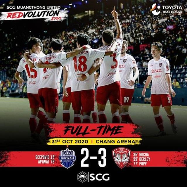 Văn Lâm và Muangthong thắng nghẹt thở đội bóng của thầy cũ - 2