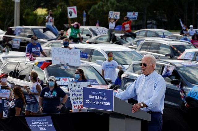 Nóng cuộc đua nước rút của Trump - Biden tại các bang chiến trường - 11