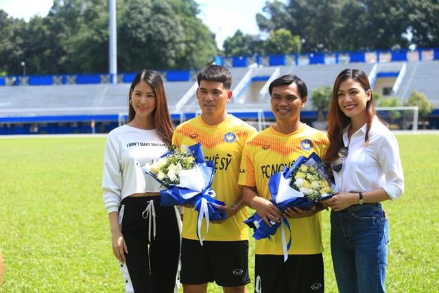 Hồ Đức Vĩnh hào hứng khi đá bóng cùng Tiến Linh, Tài Em - 4