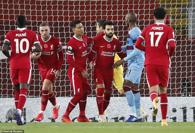 Bàn thắng muộn của Jota đưa Liverpool lên ngôi đầu bảng - 2