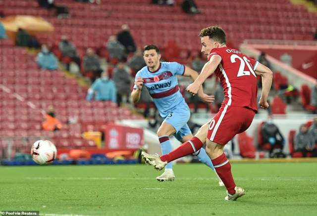 Bàn thắng muộn của Jota đưa Liverpool lên ngôi đầu bảng - 3