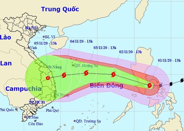 Chuyên gia khí tượng đánh giá cường độ bão Goni khi tác động đến Việt Nam - 2