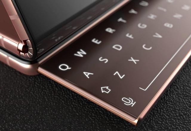 Độc đáo ý tưởng smartphone màn hình gập với bàn phím trượt của Samsung - 4