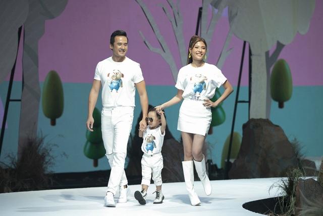 Đoan Trang, Thúy Diễm đưa con lên sàn catwalk - 5