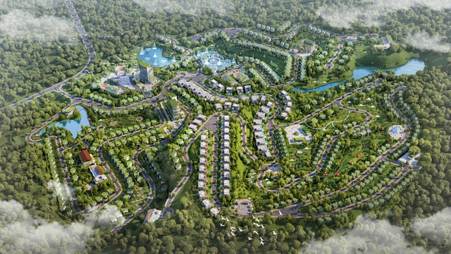Ivory Villas  Resort - nét đẹp hiện đại hoà quyện cùng núi rừng Lương Sơn - 1