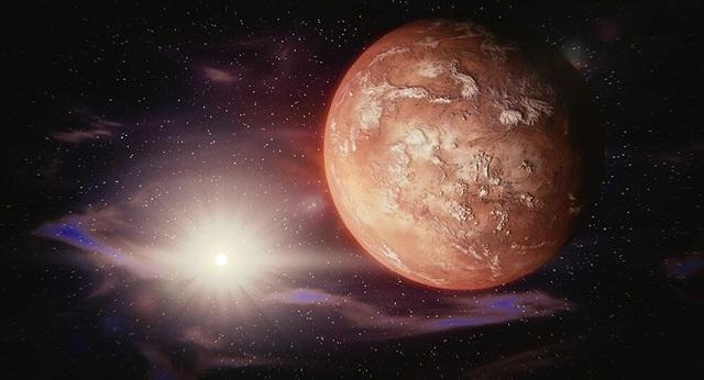 Bằng chứng mới về sự tồn tại của nước trên Sao Hoả - 1
